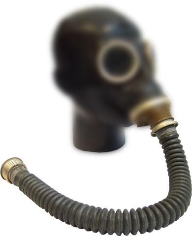 Extra Gummischlauch für Gasmasken