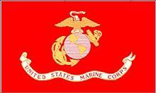 Flagge 'U.S. Marine Corps'