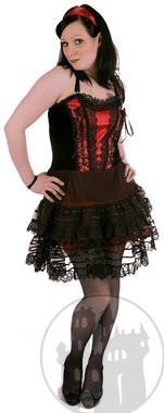 Samtkleider, Gothickleider, Satinkleider und Mittelalterkleider im Darkfashion Shop