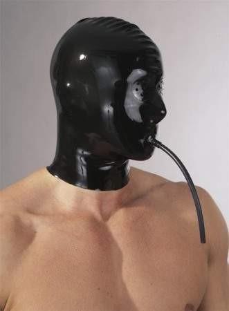 Latex Spikemaske