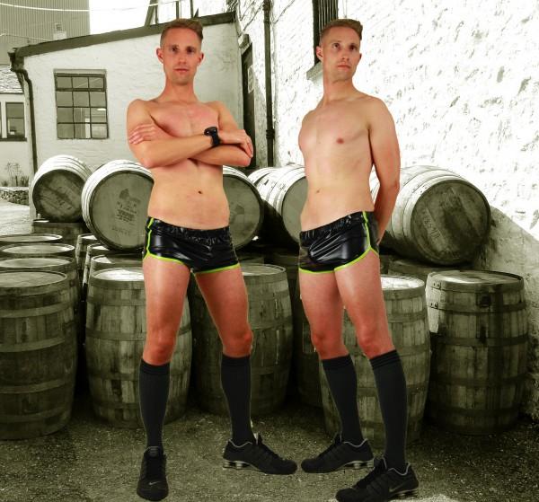 Latex Sport Shorts 'Running'