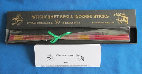 Witchcraft Räucherstäbchen für Geldzauber