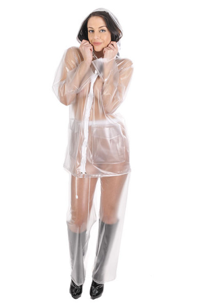 Zweiteiliger PVC Regenanzug