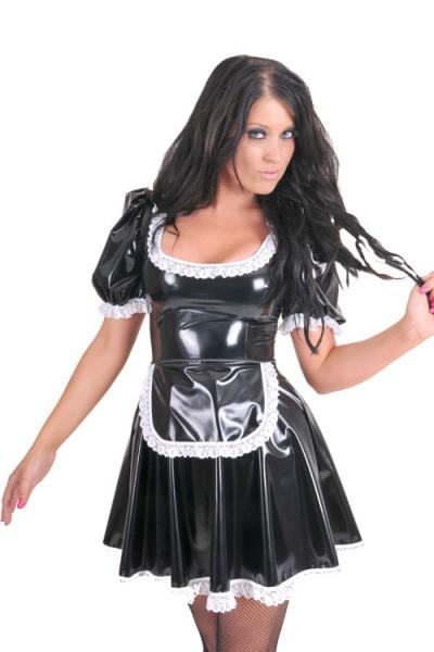 PVC Kellnerin-Kleid