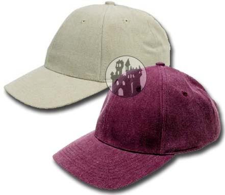 Baseballcap - mit Kunstlederlasche und größenverstellbar