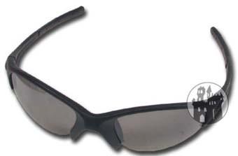 Sportbrille - schwarz