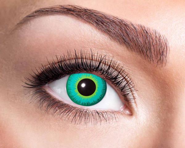 Kontaktlinsen 'Magic Green Eye'