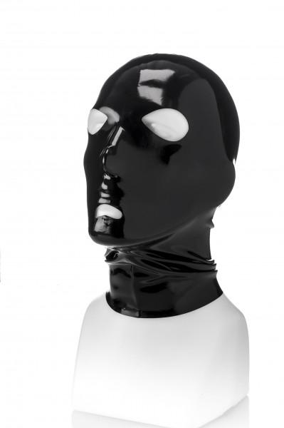 Latex Maske mit Öffnungen