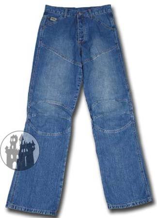 Worker-Jeans - Blau-Stonewashed