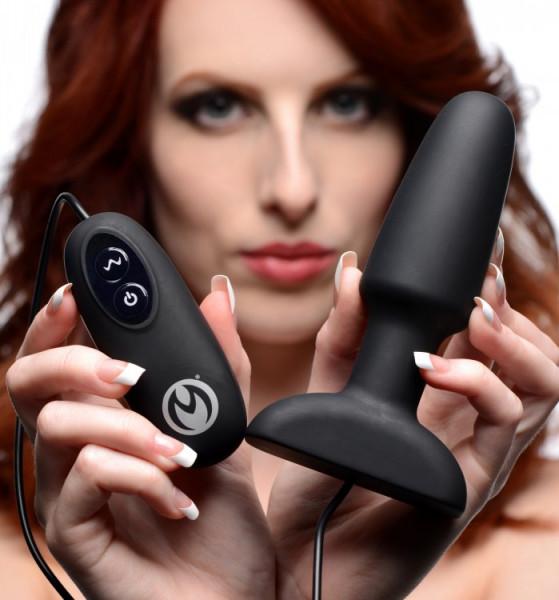 Vibrierender Analplug - ca. 14cm modelle-sex