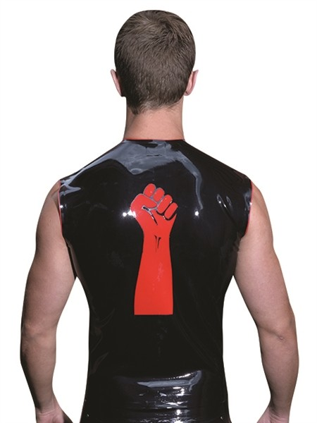 Latex Shirt ärmellos 'Faust'