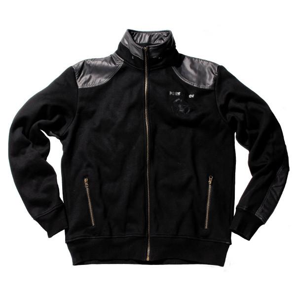 Sweatshirt Jacke mit Aufdruck hinten 2