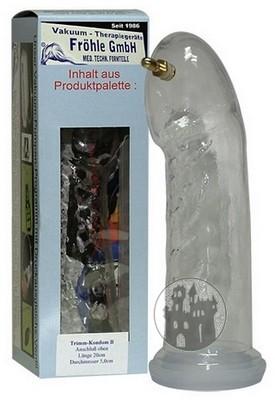 Trimm Kondom Typ B glasklar