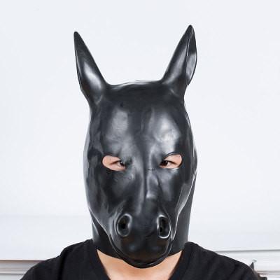 Latex Maske Pony