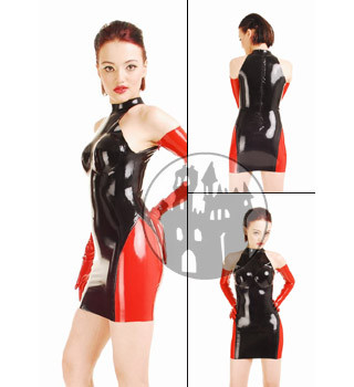Latex Kleid
