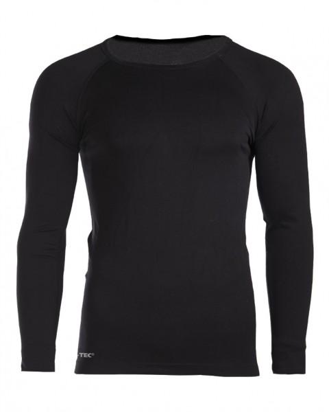 Sport Unterhemd Langarm 5er-Pack schwarz