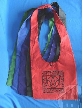 Umhängetasche mit Pentagramm