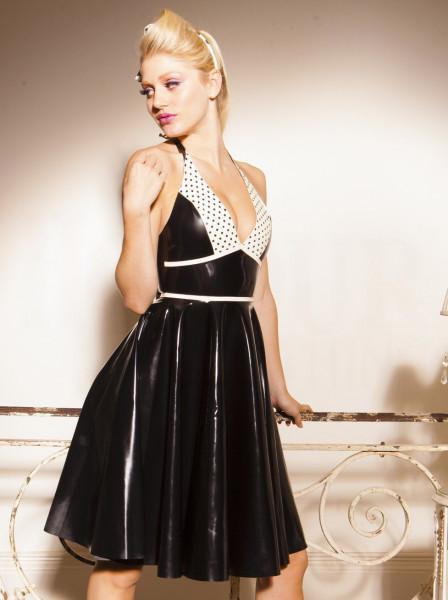 Latex Kleid mit Tellerrock 2