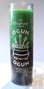 7-Tage Kerze 'Orishas Ogun'