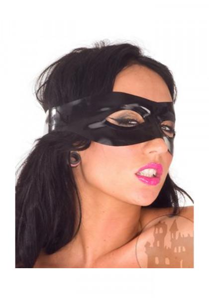 Latexaugenbinde mit offenen Augen