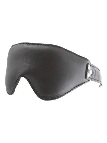 Gepolsterte Augenmaske Leder
