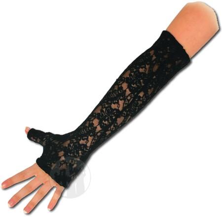 Armstulpen aus Spitze - fingerfrei