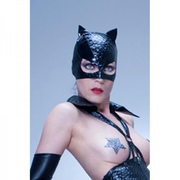 Maske mit Katzenohren