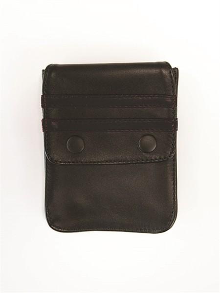 Leder Geldbeutel für Bizeps-Bänder - schwarz