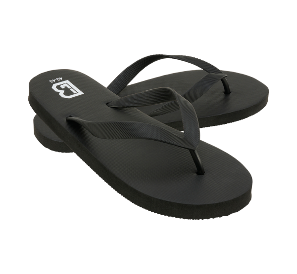 Leichte Flip Flops - schwarz