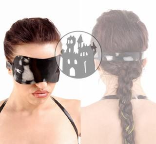 Latex Augenbinde - blickdicht