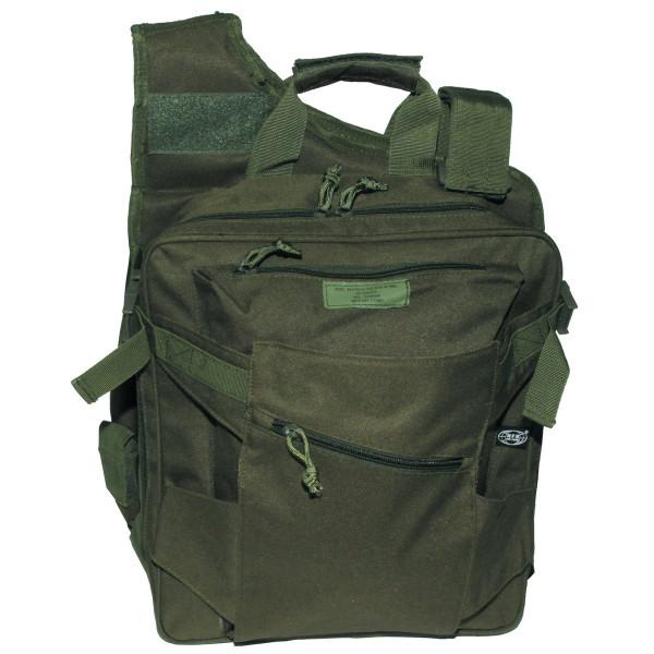 kombi rucksack aus weste rucksack und tasche. Black Bedroom Furniture Sets. Home Design Ideas