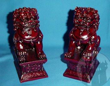 Feng Shui Hunde Paar