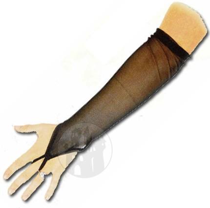 Armstulpen aus Netz mit Fingerschlaufe
