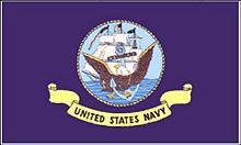 Flagge 'U.S. Navy'