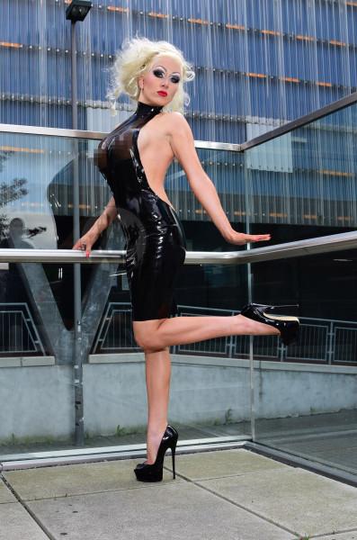 Latex Kleid 'Diva' - Macinger