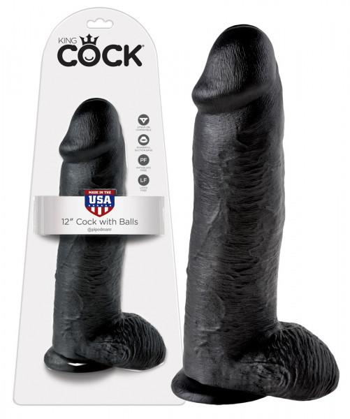 PVC Realistic Dildo - schwarz modelle sex