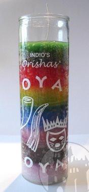 7-Tage Kerze 'Orishas Oya'