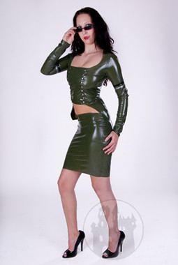 Latexgehrock 'Military' - MACINGER