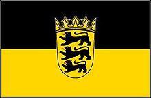 Flagge 'Baden-Württemberg'