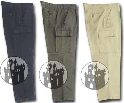 BW Feldhose mit Seitentaschen