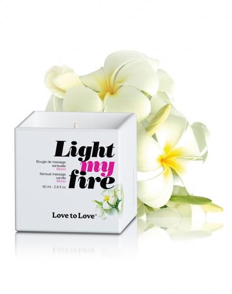 Love to Love - Light my Fire Massagekerze