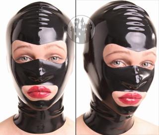 Latex Maske - offene Augen- & Mundpartie