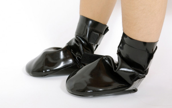Latex Hunde-Stiefel