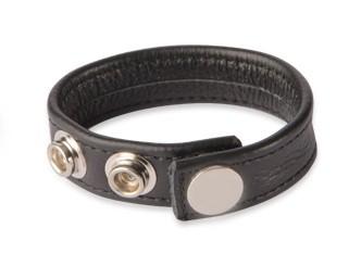 Cock Ring - verstellbar 3 Größen - schwarz