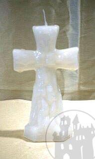Figurkerze Kreuz