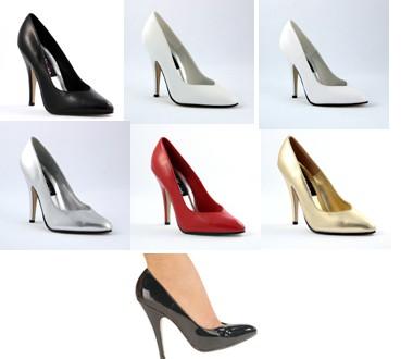Overkneeboots und Oberschenkelhohe Stiefel mit und ohne Plateau in Lack, Leder oder Kunstleder