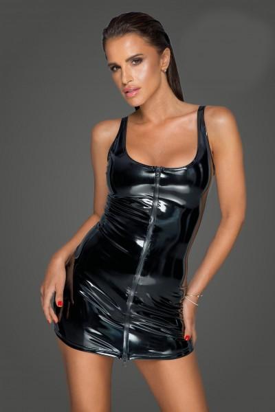 PVC-Kleid mit 2-Wege Reißverschluss - vorne