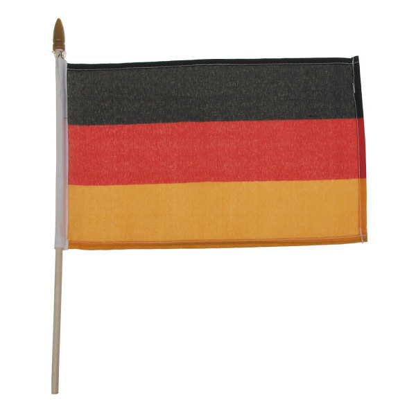Fähnchen mit Plastikstiel Deutschland