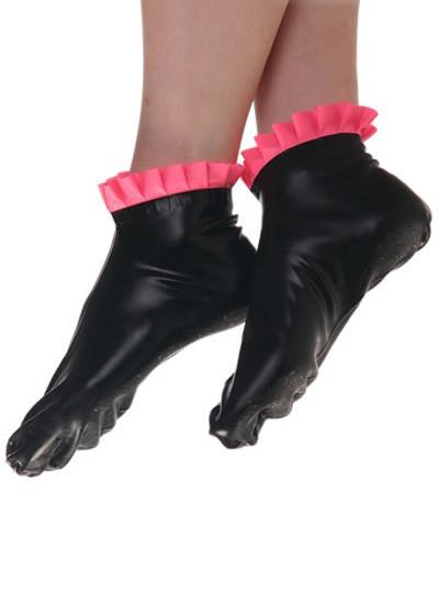 Latex Socken - Frills