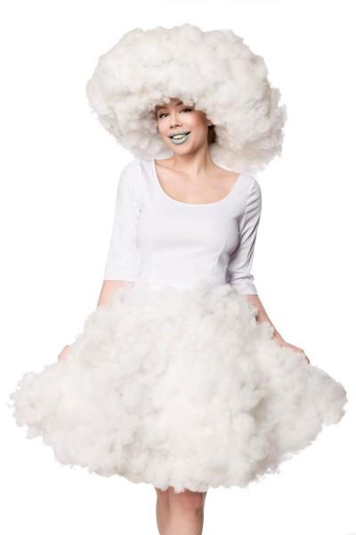 Wolken-Mädchen Kostüm - vorne